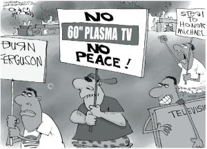 Ferguson cartoon